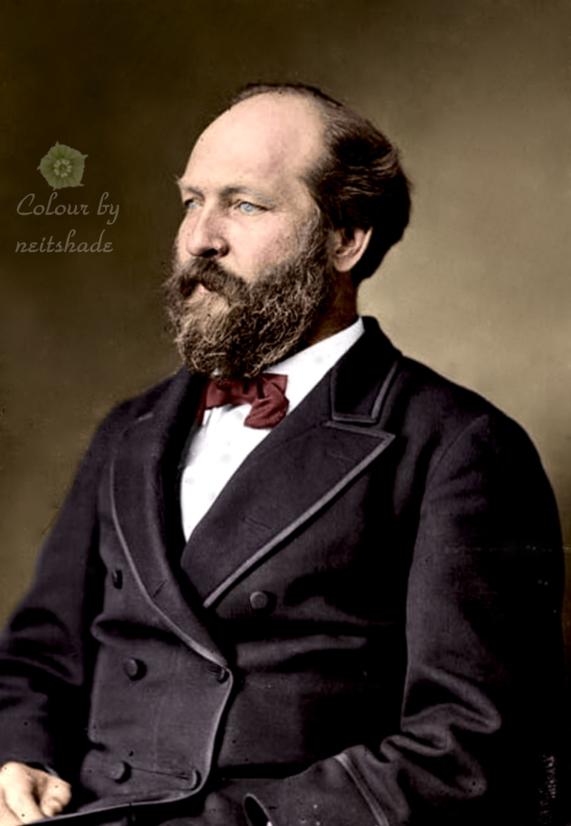 James A. Garfield, 20th President of the United States, 1881-1881