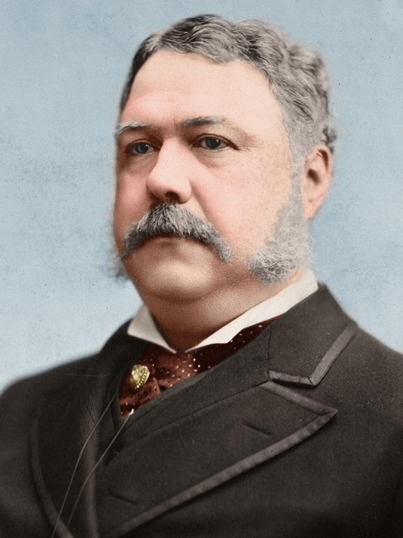 Chester A. Arthur, 21st President of the United States, 1881-1885