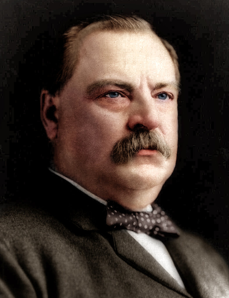 Grover Cleveland, 22nd and 24th President of the United States, 1885-1889 and 1893-1897