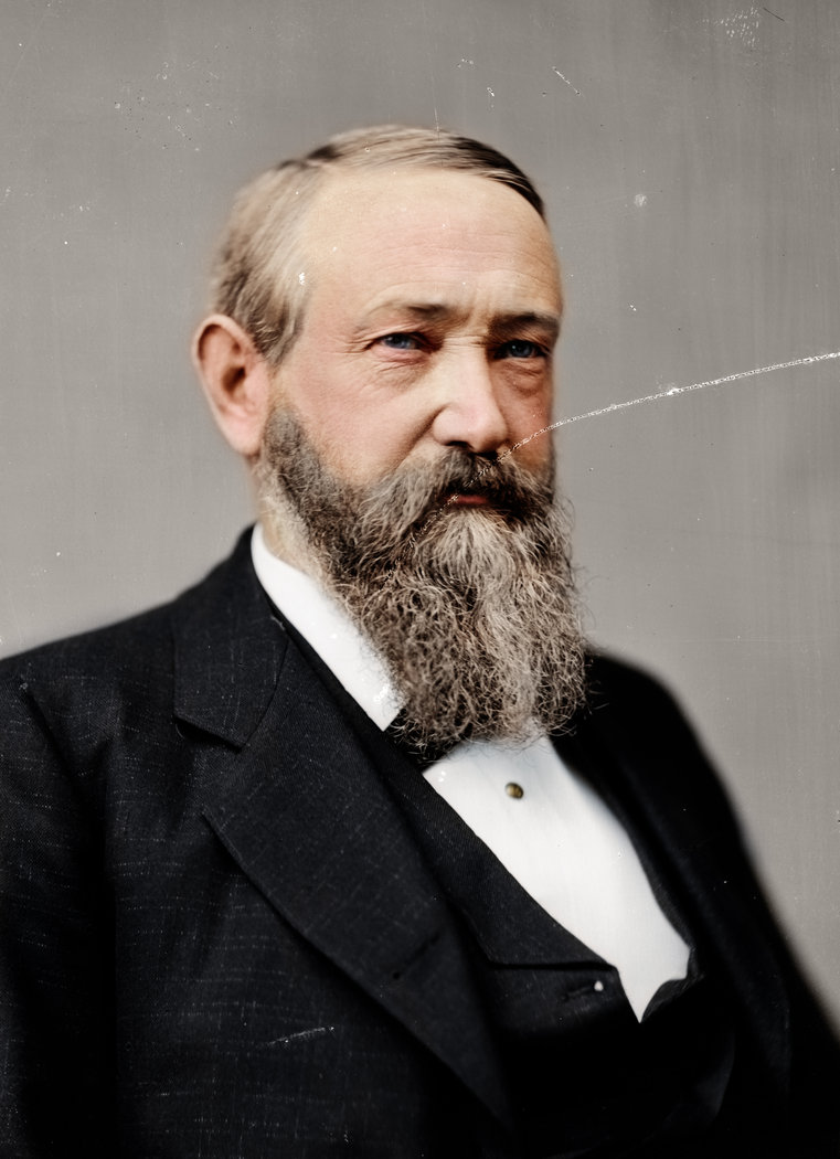 Benjamin Harrison, 23rd President of the United States, 1889-1893
