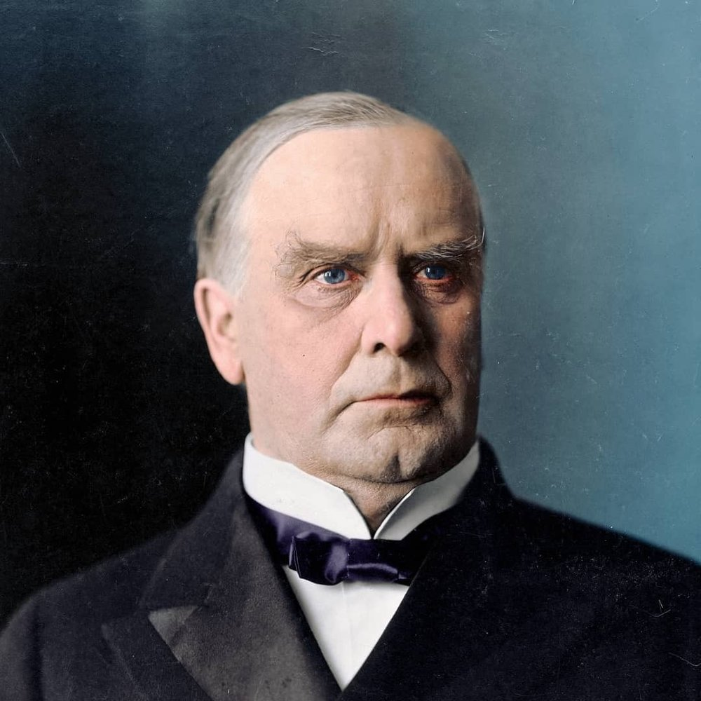 William McKinley, 25th President of the United States, 1897-1901