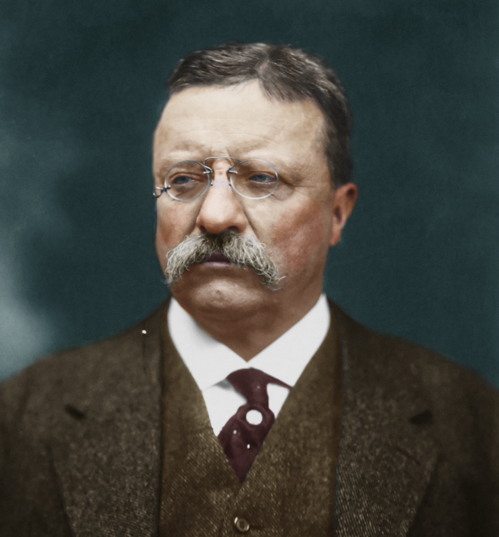 Theodore Roosevelt, 26th President of the United States, 1901-1909