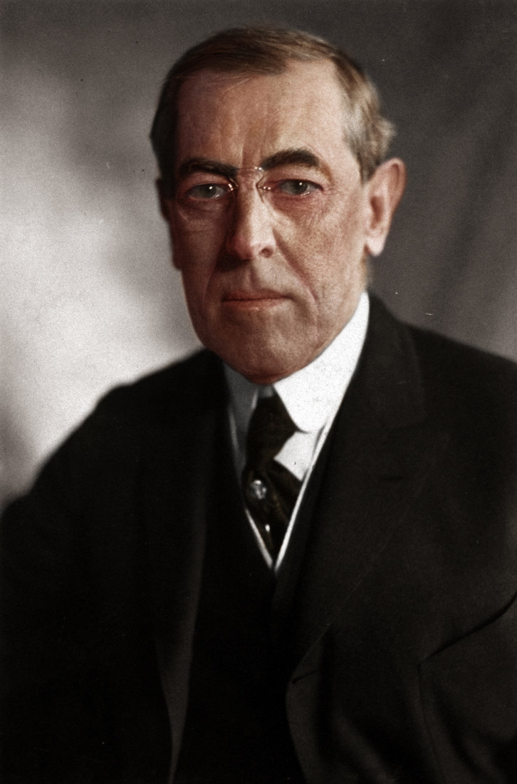Woodrow Wilson, 28th President of the United States, 1913-1921