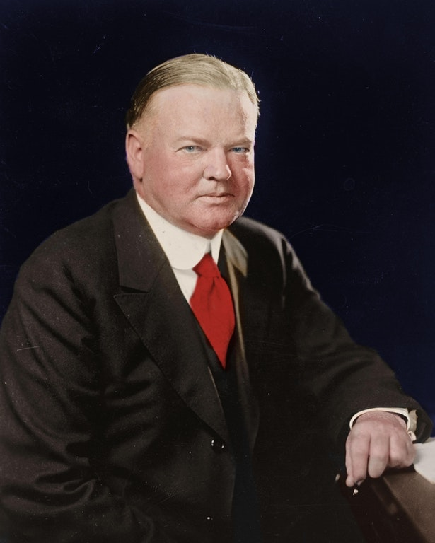 Herbert Hoover, 31st President of the United States, 1929-1933