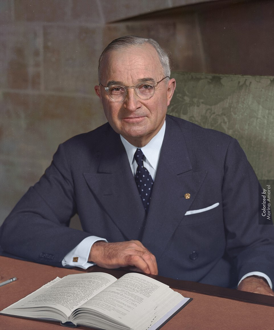 Harry S. Truman, 33rd President of the United States, 1945-1953