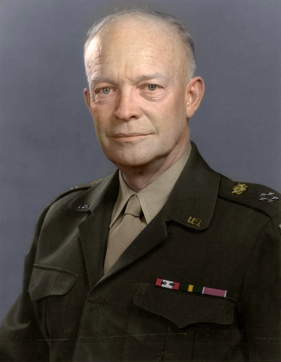 Dwight D. Eisenhower, 34th President of the United States, 1953-1961