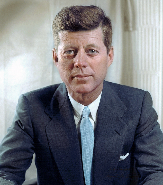 John F. Kennedy, 35th President of the United States, 1961-1963