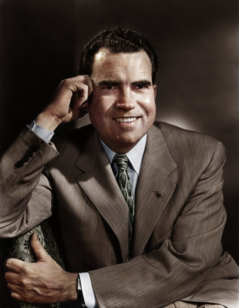 Richard Nixon, 37th President of the United States, 1969-1974