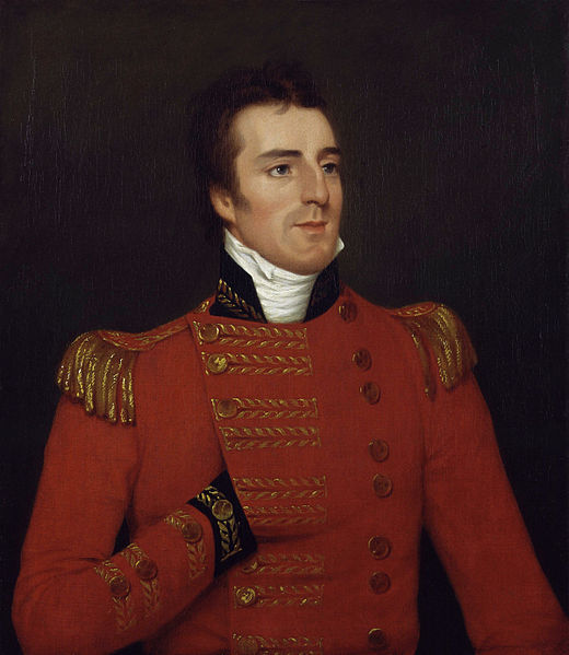 Painting by Thomas Lawrence of Arthur Wellesley, Duke of Wellington, in 1815 after the Battle of Waterloo.