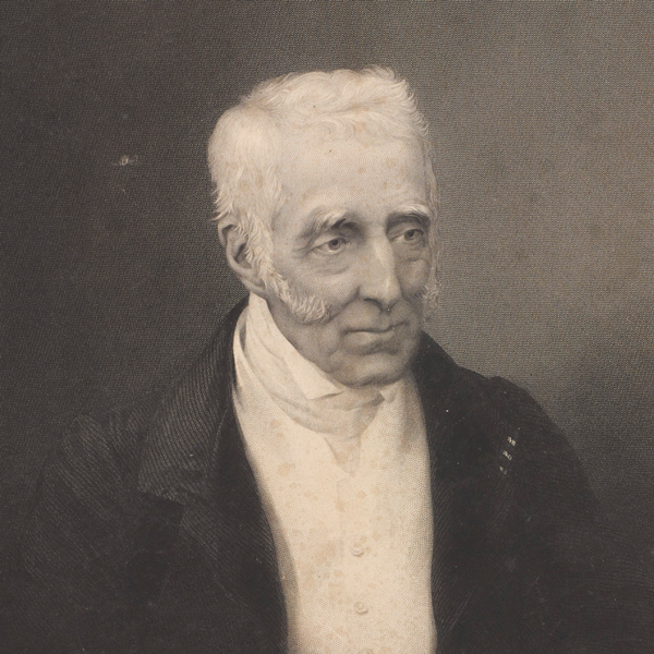 A photograph of a 76-year-old Arthur Wellesley in 1845. At this time he would have been Leader of the House of Lords.