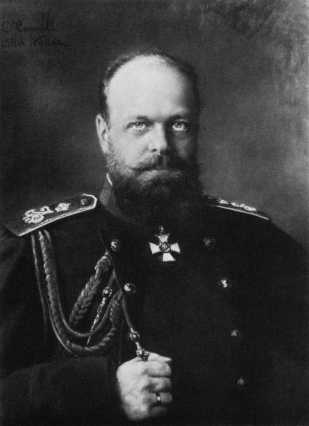 Tsar Alexander III of the Russian Empire. He ruled following the assassination of his father in 1881 until his early death at the age of 49 in 1894.