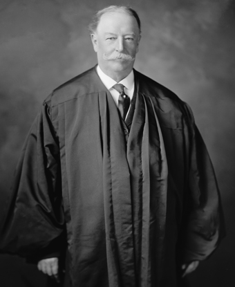 William Howard Taft as Chief Justice which he served as from 1921 until 1930.