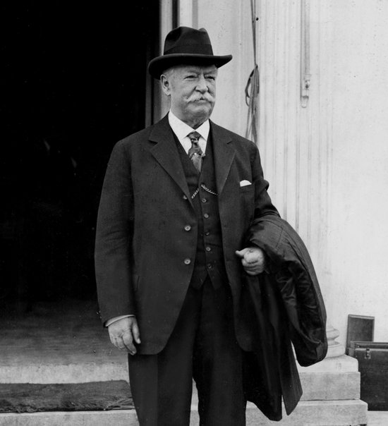 William Howard Taft in the 1920s after losing 70lbs.