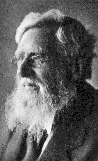 A 1912 photograph of Alfred Russel Wallace at the age of 89. He died a year later.