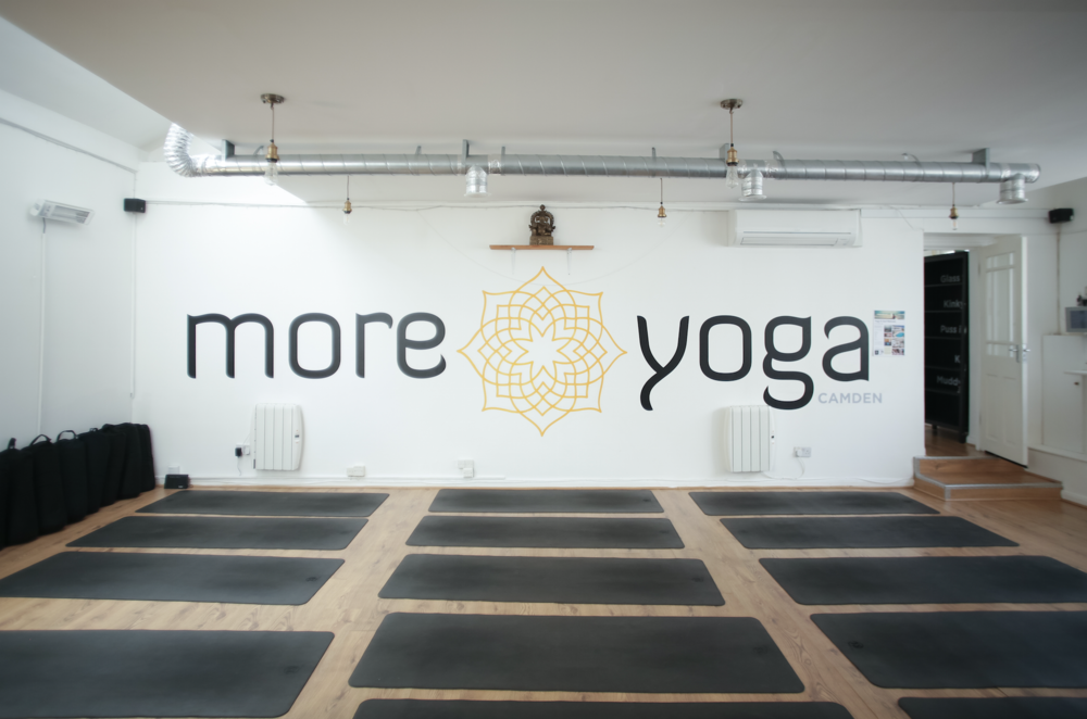 More Yoga, Various locations -  https://www.moreyoga.co.uk   More Yoga Camden is my local location and is such a wonderful studio with a unique uplifting energy. More Yoga has branches located all over London, including the new Tower Bridge venue, just opened this week. Mixed classes at mixed levels, you will feel comfortable and energised to try what your body will allow you to do and feel wonderful after (even after a 7:30am Rocket Yoga class, most productive day I've had in a while!).