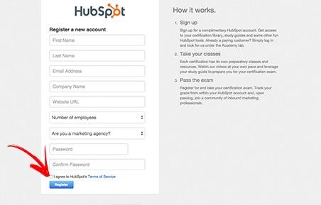 Certificado Internacional HubSpot de Inbound Marketing - Passo 2