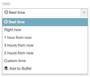 CoSchedule Best time - Recurso que escolhe automaticamente o melhor horário para publicar em cada rede social