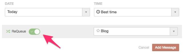 CoSchedule ReQueue - Opção para indicar que o conteúdo deve ser republicado nas Redes Sociais