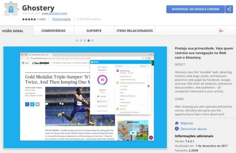 Ghostery - Google Chrome Extension
