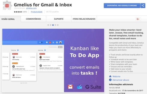 Gmelius for Gmail and Inbox  - Google Chrome Extension