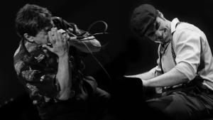 Bob Baldori & Arthur Migliazza - Performing Boogie Stomp!