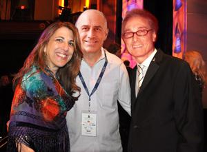 Left to Right: Lynn Orman Weiss, Scott Taradash, Michael Frank