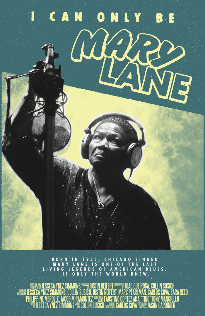 Out Now! - At 82, Mary Lane is one of the last legendary Blues musicians that made the Great Migration from America's south. Although Mary is widely respected in Chicago, she has never gotten the wider recognition she deserves. I Can Only Be Mary Lane follows Mary as she records just her second studio album and first in over 20 years. Her producer thinks it could potentially win her a Grammy, if only they can get it done.The ArtistA longtime staple of Chicago's West Side Blues circuit, singer Mary Lane was born November 23, 1935 in Clarendon, Arkansas. After honing her skills in local juke joints in the company of Howlin' Wolf, Robert Nighthawk, Little Junior Parker and James Cotton, Lane relocated to Chicago in 1957; backed by Morris Pejoe, she soon cut her debut single