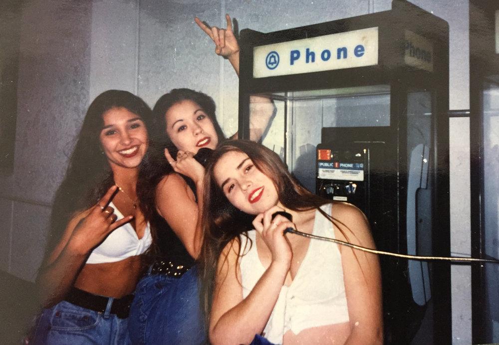 The Hellsrebels crew in 1994    Courtesy of Desire Tostado