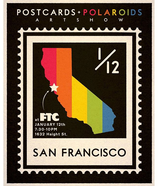 ✨San Francisco friends!✨ We're honored to have our next show at @ftcsanfrancisco Saturday January 12th 7:30-10pm! Come say hi, have a beer and check the show!