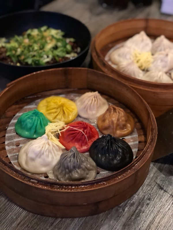 Dim sum and soup dumplings