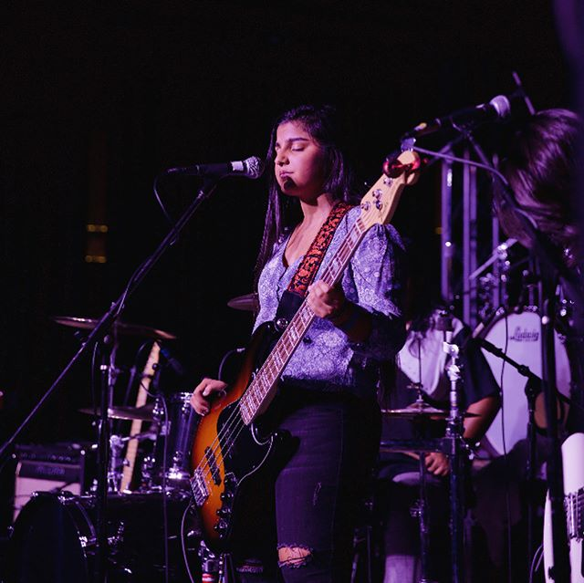 It feels like just yesterday she was signing for her middle school jazz band. Happy 18th birthday to the beautiful young woman we have on bass @simmydarling We love you, you little simoleon sprout ❤️ #bassplayers #happybirthday #fenderbass #youreofficiallyanadult #stopkissingyourself #lookhowlittleyouwere #tearingup 😭