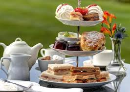 Morning/ Afternoon Tea Boxes - Mini scones, cake and sandwiches. Gluten free options.