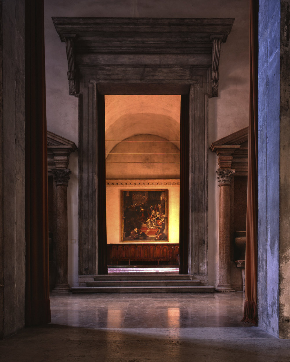 Cenacolo Palladiano, ex Benedictine Monastery Island of Saint Giorgio Maggiore - Venice, Italy (1995)