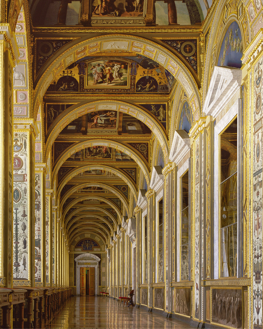 Raphael's Gallery, State Hermitage - Saint-Petersburg , Russia (1995)