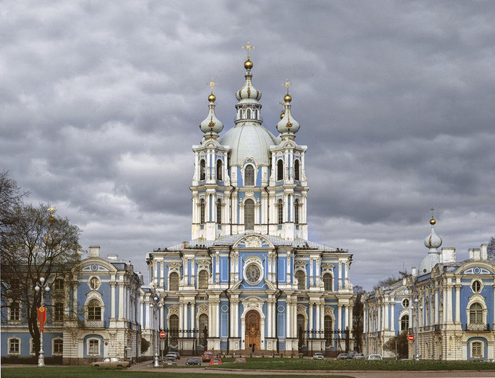Smolny Monastery - Saint Petersburg, Russia