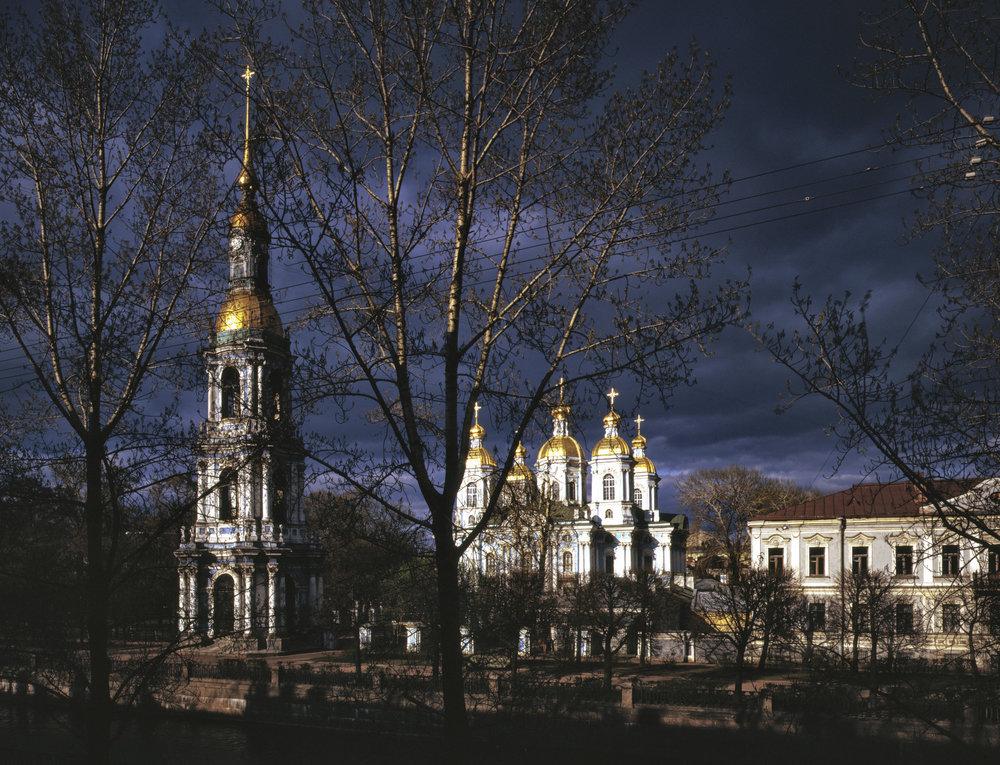 St. Nicholas Naval Cathedral - Saint Petersburg, Russia
