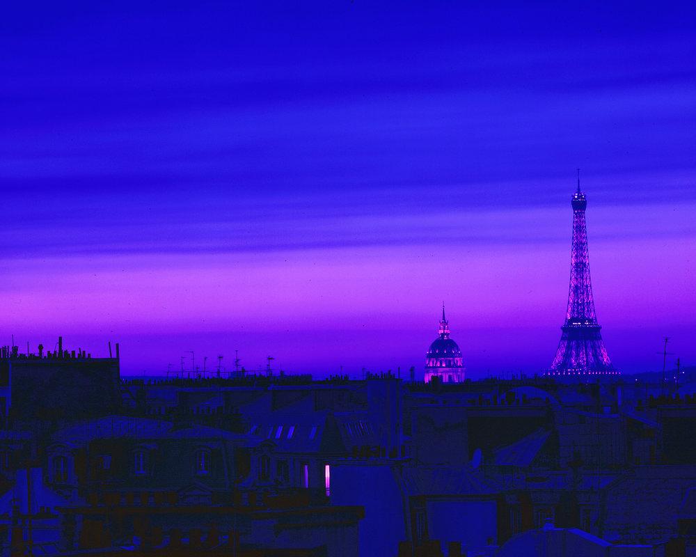 Blue Morning - Paris