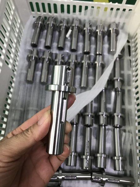 This is the shaft that will be doing the hard work driving the Stance - made in stainless steel because we want it to be strong enough to serve two lifetimes!