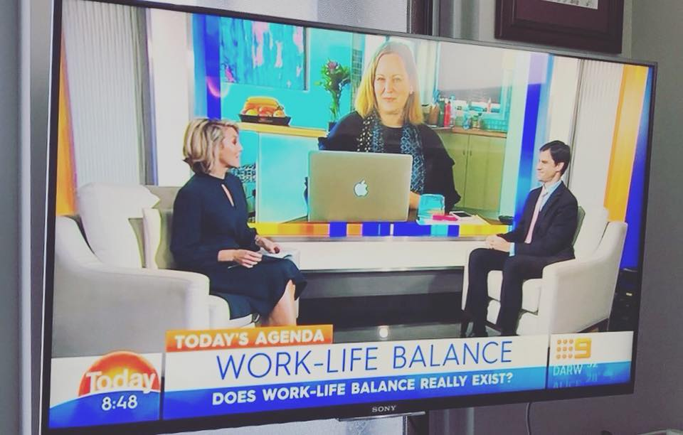 TODAY Show Appearance, Agenda with Georgie Gardner & Mark McCrindle - 11 June 2018 -