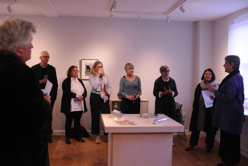 Borderlands, launch exhibition at Fen Ditton Gallery