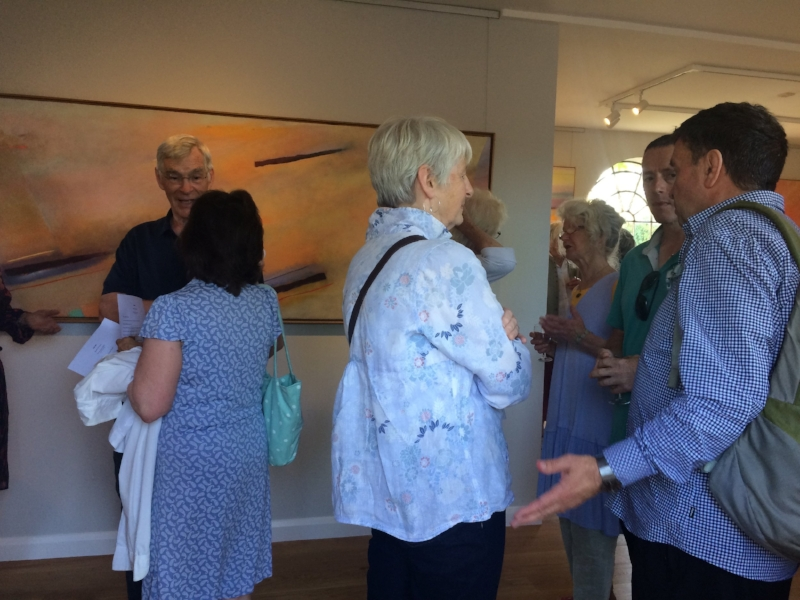 Julia Ball - 60 Years of Painting Private View