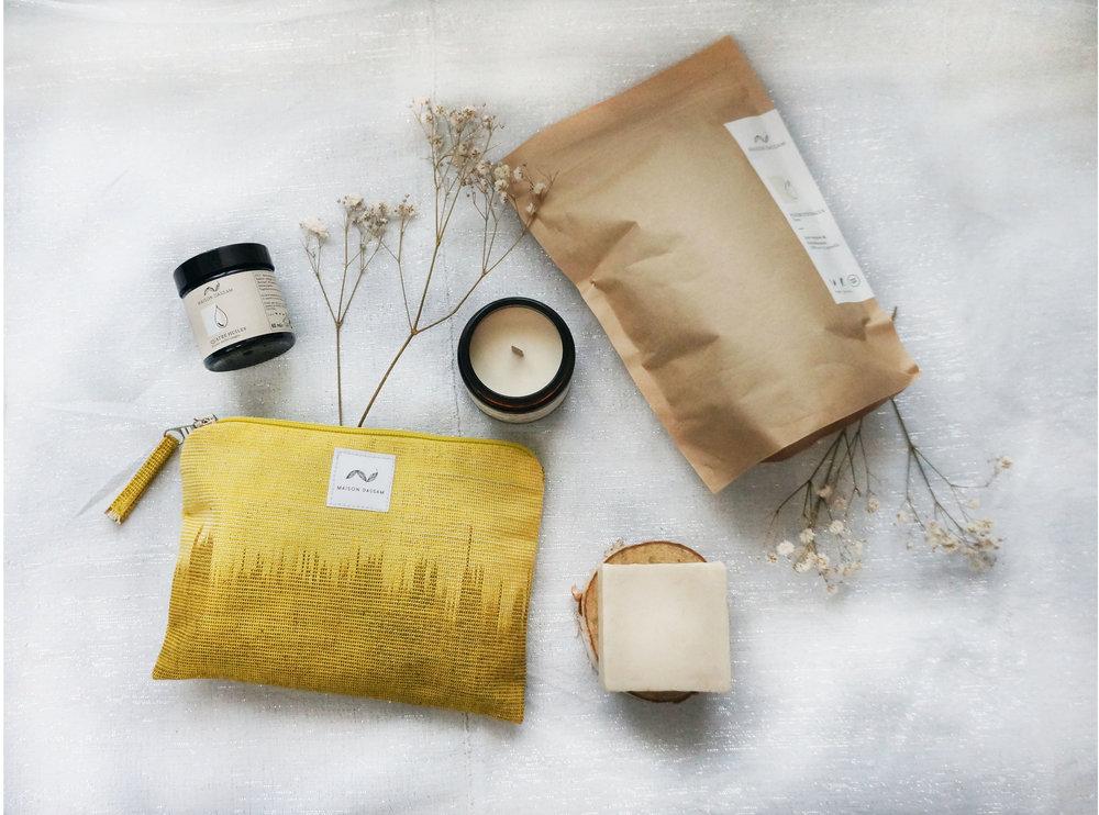 Maison dassam main huile marque cosmétique naturel