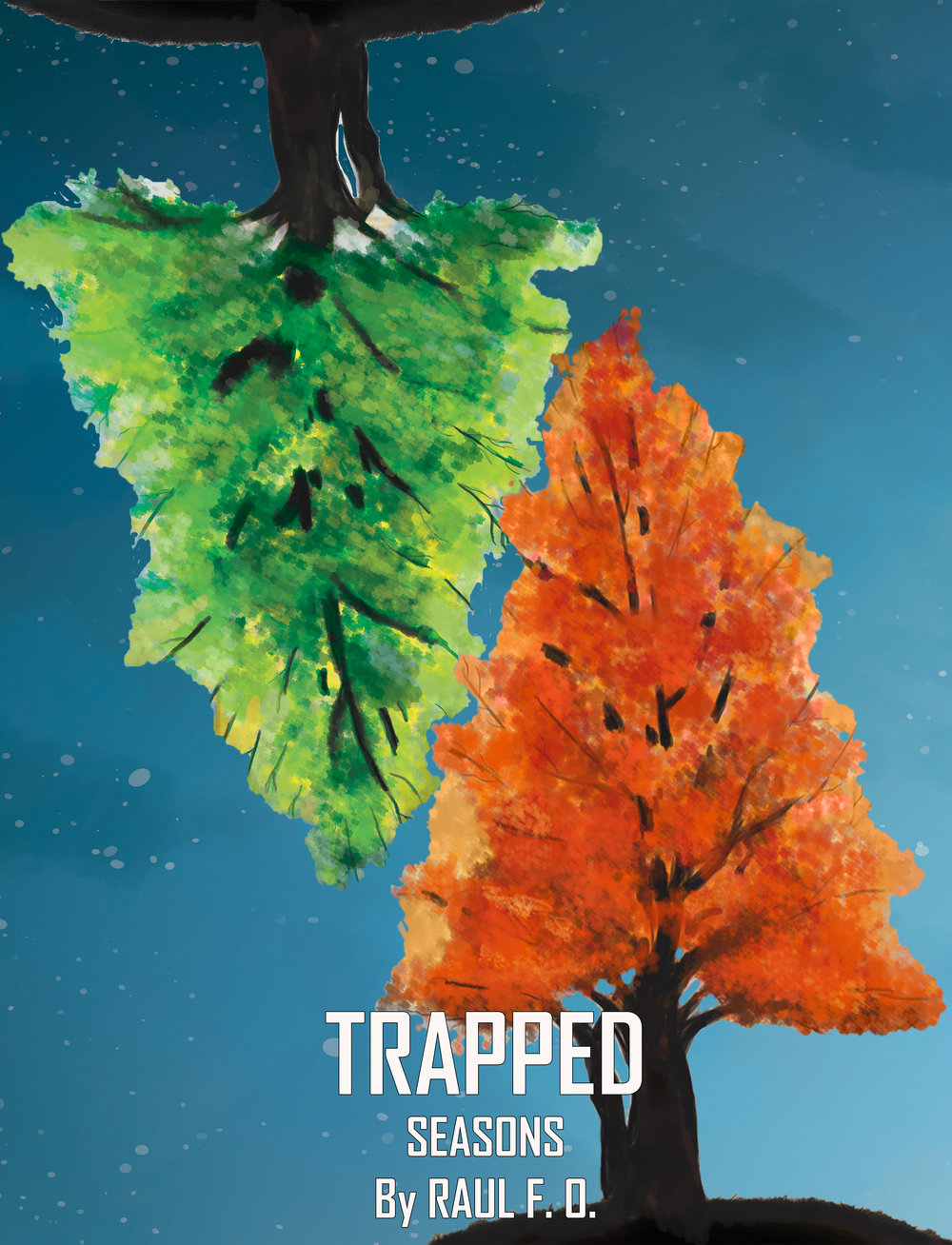 Trapped: Seasons Smartphone Wallpaper