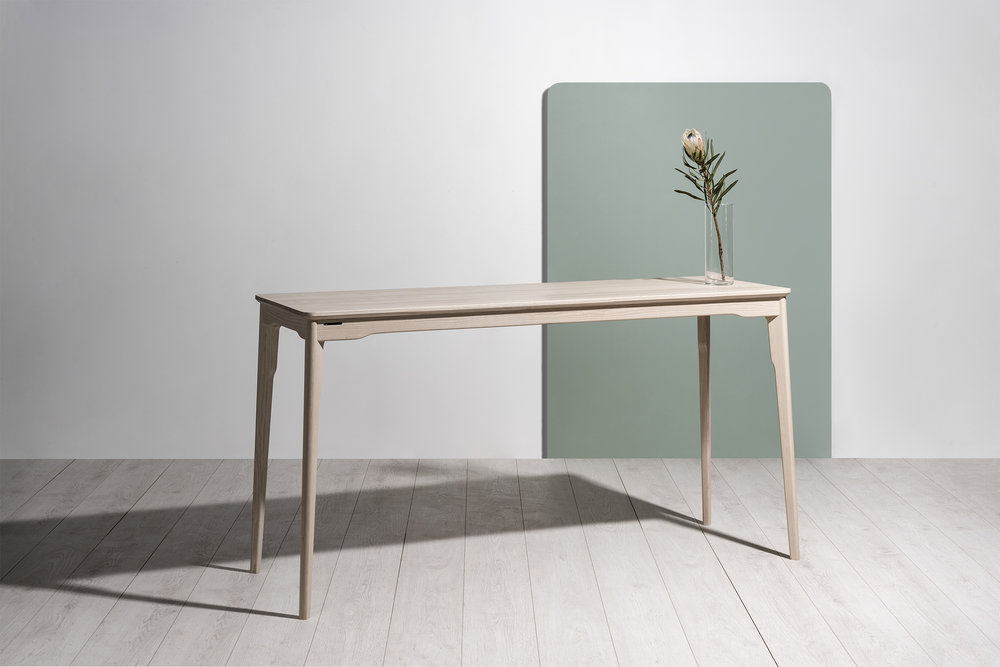 Klip Console Table w/ Timber Top