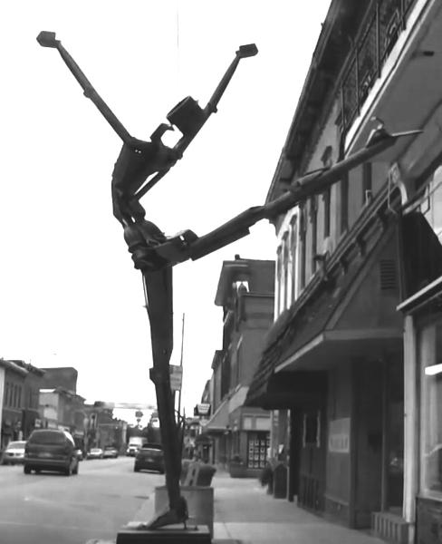 2014, Decatur Sculpture Tour Dancing Gear, Greg Mendez