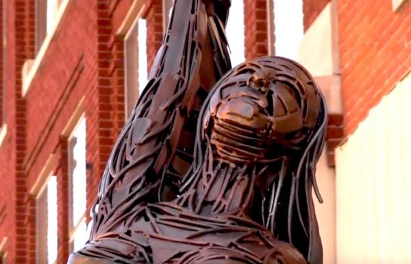 2014 Decatur Sculpture Tour Lighter Than Stone, Greg Mendez
