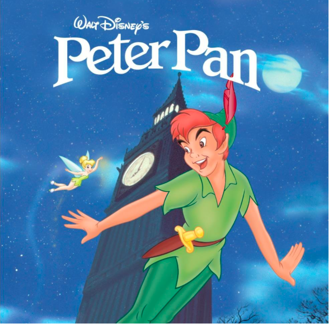 Today's post is full of references.  Source: https://www.amazon.com/Peter-Pan-Various/dp/B00005MKAF
