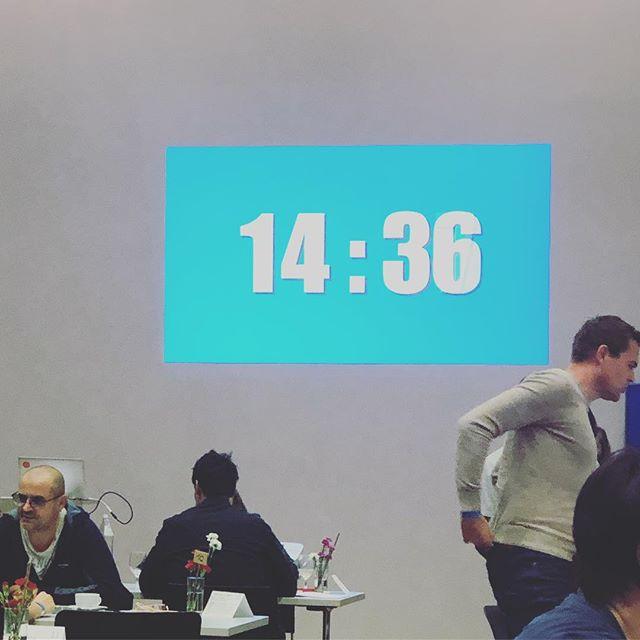Tolle Veranstaltung, super Organisation. Hab viel gelernt - #count15 #oha
