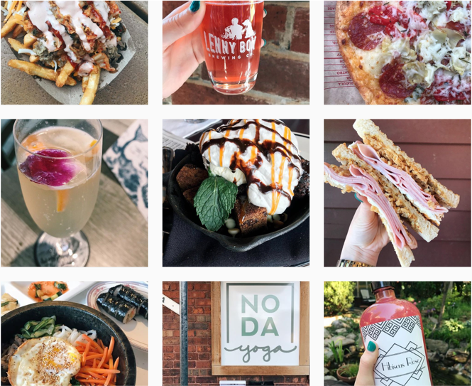 The CLT Gal - Eats, drinks, and adventures from a local Charlottean.- Alex FloresFood, Marketing