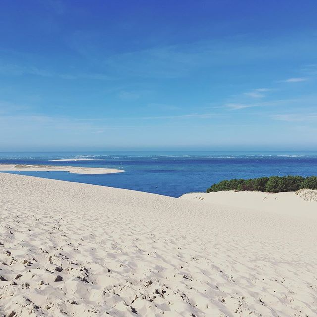 I hear it is raining in the UK. Sorry about that! Dune du Pilat. Arcachon.